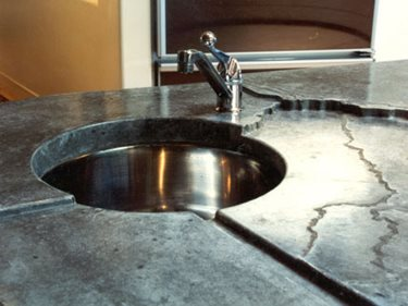 G210 Inset Soap Tray Sink Concrete Walkways ConcreteNetwork.com ,