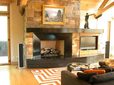 Fireplace Surrounds Concrete Revolution Denver, CO