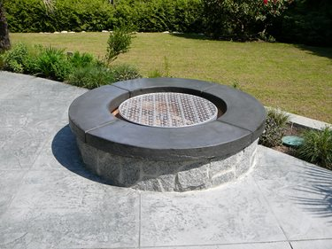 Outdoor Fire Pits Elements of Concrete Maple Ridge, BC