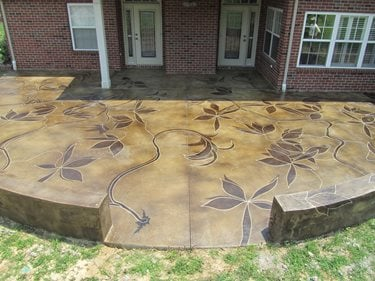 How To Choose The Right Stain Or Dye The Concrete Network