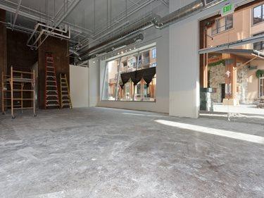 Before Concrete Polishing Site Evolution Industries Verdi, NV