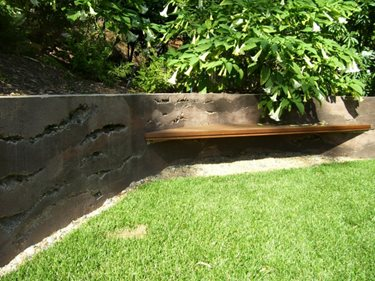 Bench Site Ron Odell's Custom Concrete Woodland Hills, CA