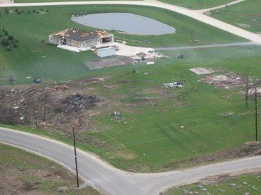 Concrete Home After Tornado Site Fox Blocks Omaha, NE