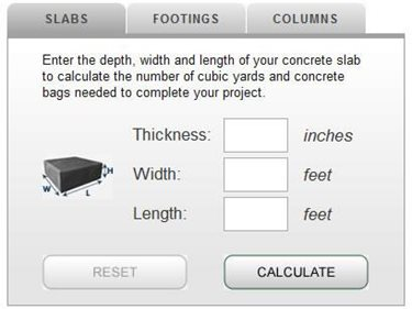 How much concrete calculator and tips for estimating for How much does it cost to have a foundation poured