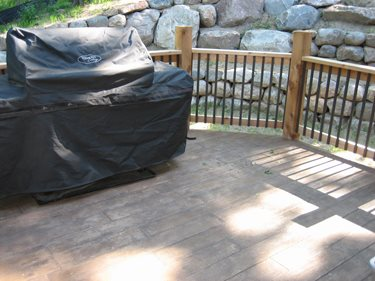 Deck Site Allstate Decorative Concrete Cokato, MN
