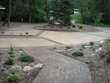 Driveway, Walkway Site Allstate Decorative Concrete Cokato, MN