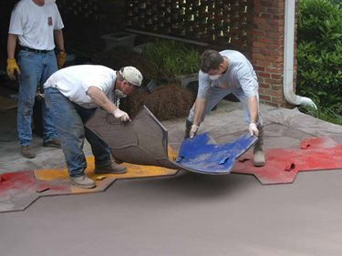 How To Stamp Concrete Site Decorative Concrete Institute Temple, GA
