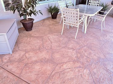 Patio, Smith Paints Overlay Artistic Polymers Inc. ,