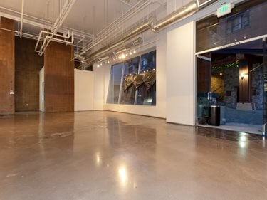 Polished Commercial Floor, Polished Concrete After Site Evolution Industries Verdi, NV