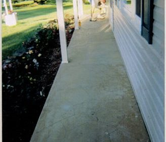 Resurfacing, Porch, Entryway Site Smith Construction and Decorative Concrete Brockway, PA