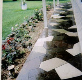 Resurfacing Porch Site Smith Construction and Decorative Concrete Brockway, PA