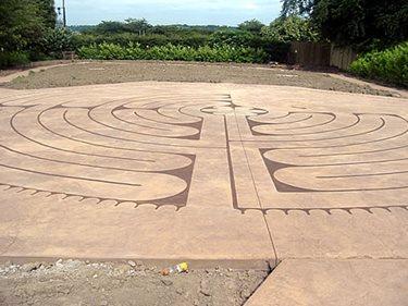 Stained Labyrinth Site De Verdon - UK UK,