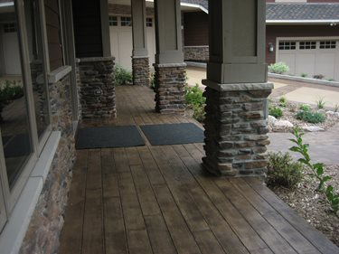 Walkway Site Allstate Decorative Concrete Cokato, MN
