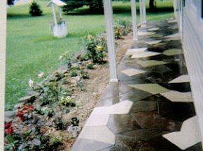 Resurfacing Porch Site Smith Construction and Decorative Concrete Brockway, PA