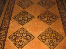 Stencil Design Concrete Walkways Modello Designs Chula Vista, CA