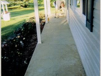 Resurfacing, Porch, Entryway Site Smith Construction and Decorative Concrete Brockway, PA