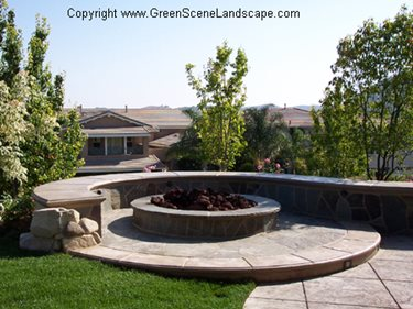 Landscape Seating Designing And Building Concrete Seat