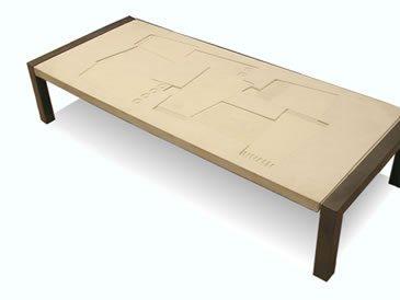 Beige Table Site ConcreteNetwork.com