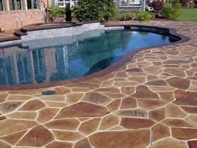 Pool Stamped Concrete ConcreteNetwork.com ,