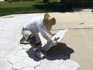 Stamped Concrete Tiles, Stonecrete Tile System Concrete Walkways StoneCrete Systems Orem, UT