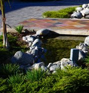 Creek, Bridge Concrete Driveways Aesthetic Artisans Fullerton, CA