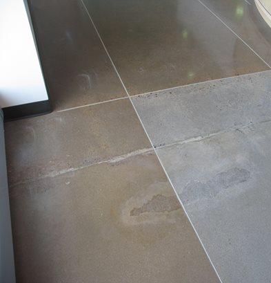 Imperfection, Flaws Concrete Floors Colorado Hardscapes Denver, CO