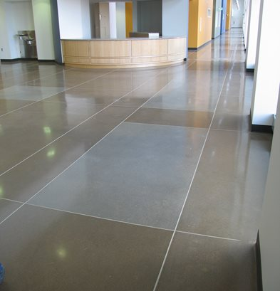 Rectangles, Joints Concrete Floors Colorado Hardscapes Denver, CO