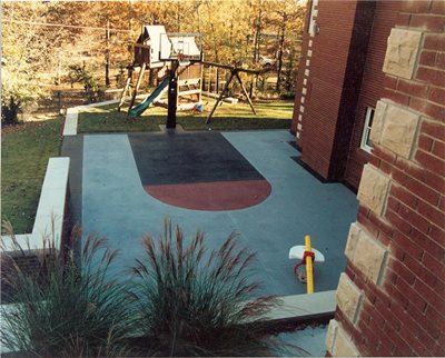 How to Apply Decorative Concrete Coating - YouTube
