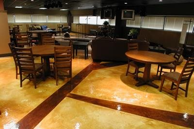 Faux Wood, Polished Commercial Floors Concrete Designs U0026 Resurfacing  Fayetteville, ...