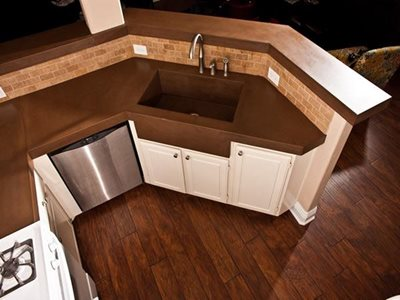 Concrete Countertops Concrete Wave Design Anaheim, CA