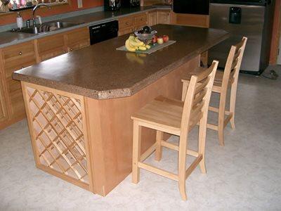 Concrete Island Concrete Countertops In & Out Home Improvements Grand Island, NY