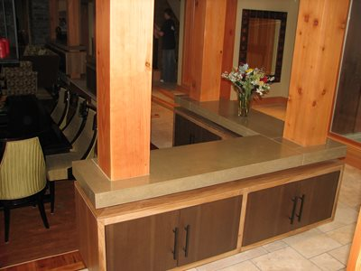 Concrete Countertops Creative Custom Concrete Concepts LLC Anacortes, WA