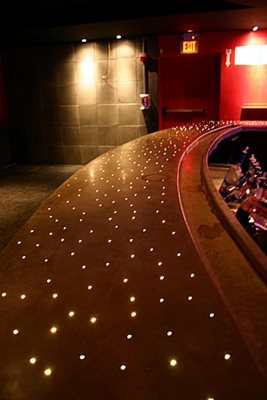 Lights, Bar, Fiber Optic Concrete Countertops Diversified Decorative Finishes Inc Brooklyn, NY