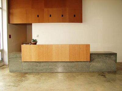 Wavy Green Concrete Countertops M Concrete Studios Dayton, OH