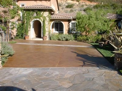 Driveway, Entrance Concrete Driveways Concepts In Concrete Const. Inc. San Diego, CA