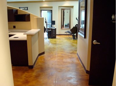 Concrete Floors Acid Stain Flooring Pearl River, NY