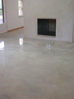 Concrete Floors Over Existing Saltillo Tile Ceramic