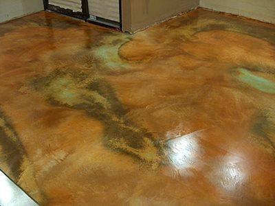 Concrete floors upland ca photo gallery ohio concrete for Concrete floor stain colors