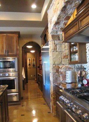 Colored Concrete Kitchen Floor Concrete Floors Custom Concrete Solutions Schertz, TX