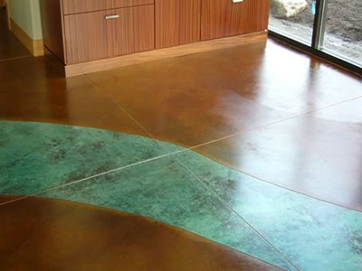 Stained Concrete Floors Maverick Specialty Contracting Seattle, WA