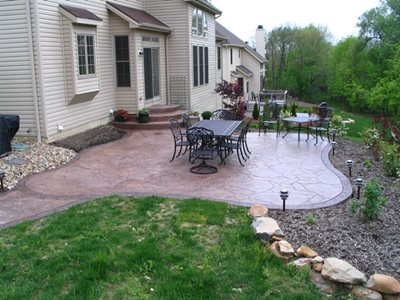 Arizona Flagstone Concrete Patios Hudecek Cement Inc North Royalton, OH