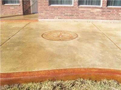 Concrete Patios Aztec Decorative Concrete Houston, TX