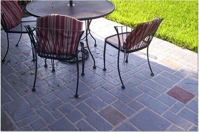 Brick, Stamped Concrete Patio Concrete Patios Ideal Concrete Designs Spring Hill, FL