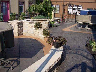 Cobblestone, Caesar Stone Concrete Patios J.P. Havens Contracting Newmanstown, PA