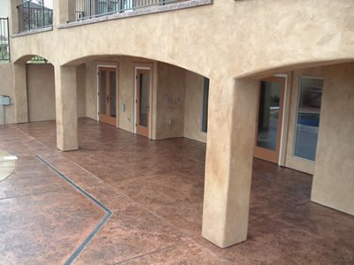 Cork, Admix Concrete Patios Concrete Impressions Northwest Burbank, WA