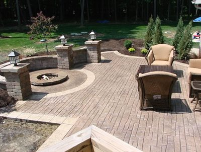 Stamped Concrete Ideas Stamped Concrete Patio Designs Calico . - Concrete Patio Design Ideas Des Plaines Patio Designs Des Plaines