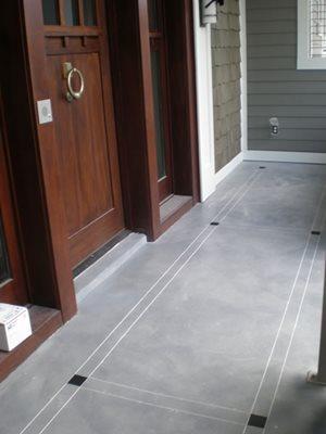 Engraved Concrete Patios Concrete -N- Counters Lutz, FL