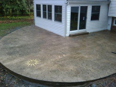 Gold Sun Concrete Patios CamoCrete Exton, PA