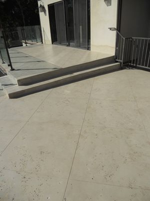 Limestone Coating Concrete Patios Floor Strength Signal Hill, CA