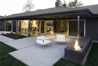 Patio Furniture  Angeles on Concrete Patios   Los Angeles  Ca   Photo Gallery   The Concrete